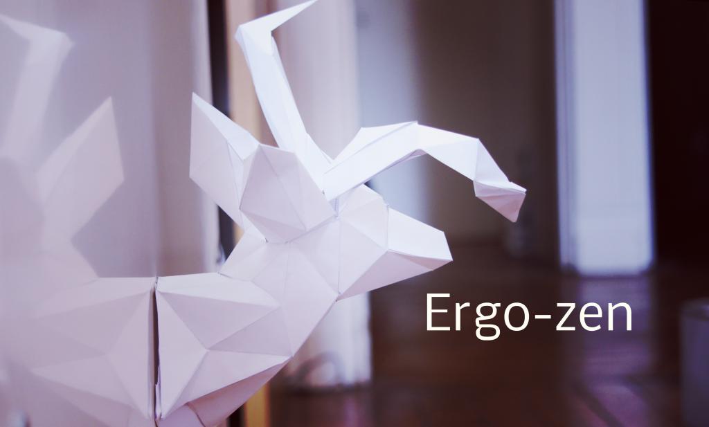 Cerf papercraft ergo-zen